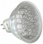 Лампа LED Кreonix MR16 JCDR 220V 18LED 0.9W GREEN